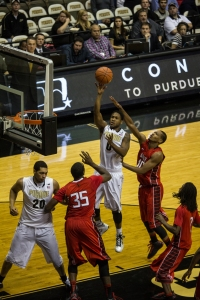 Terone Johnson with a floater