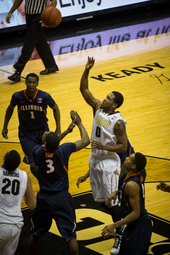 The finish of Terone's sweet floater