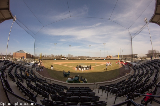 Alexander Field about an hour before game time